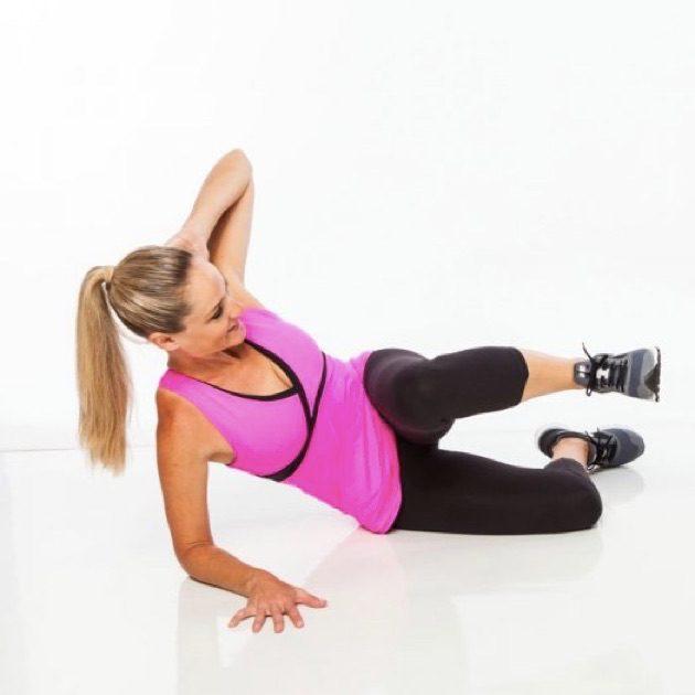 Упражнения для ягодиц: сгибание-разгибание ноги