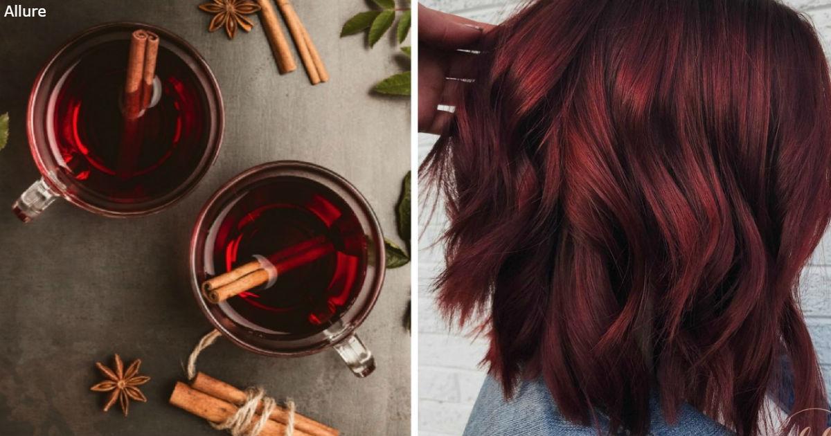 ″Винный″ оттенок волос будет самым модным в 2019 году! Вот как это выглядит